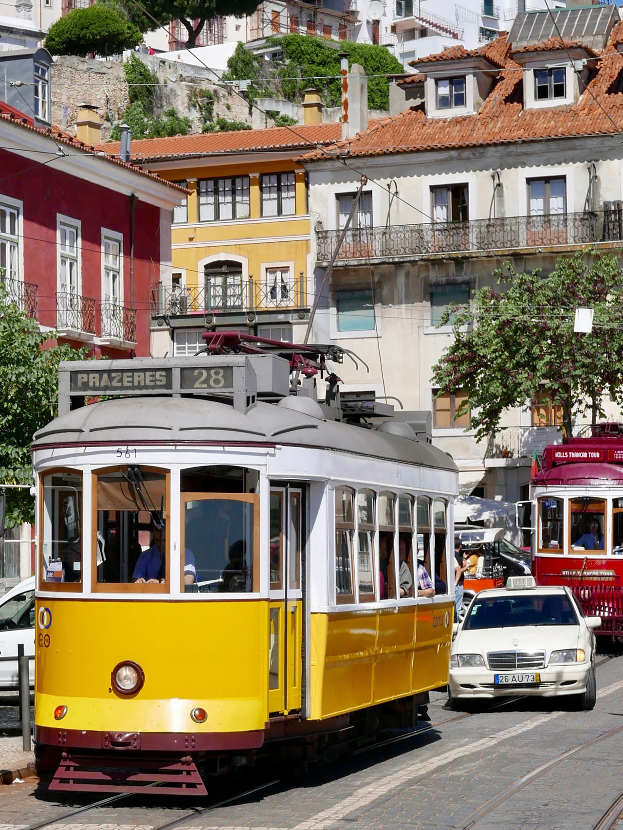 Cara Sharratt Travel - Tram - Lisbon, Portugal