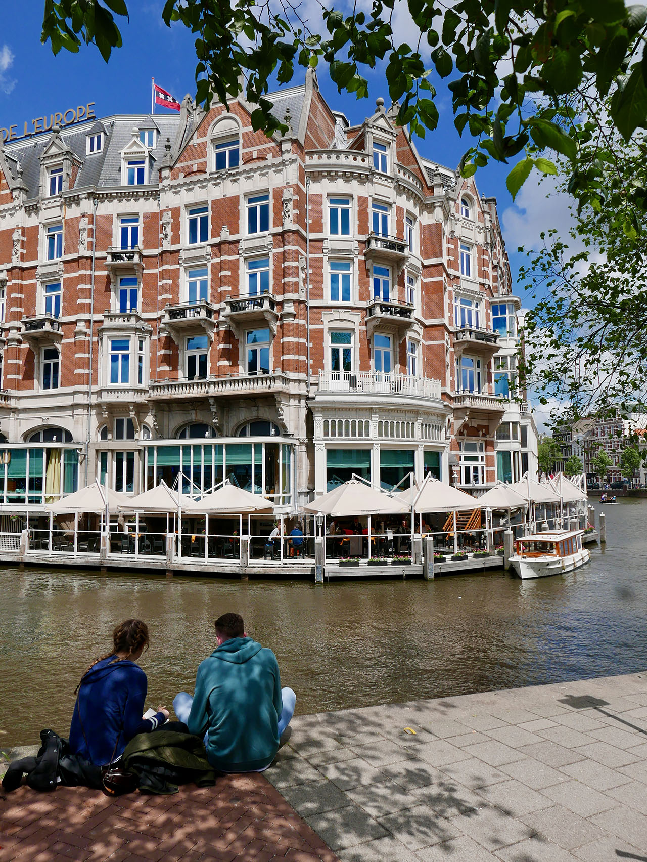 Cara Sharratt Travel - Exterior - De L'Europe in Amsterdam