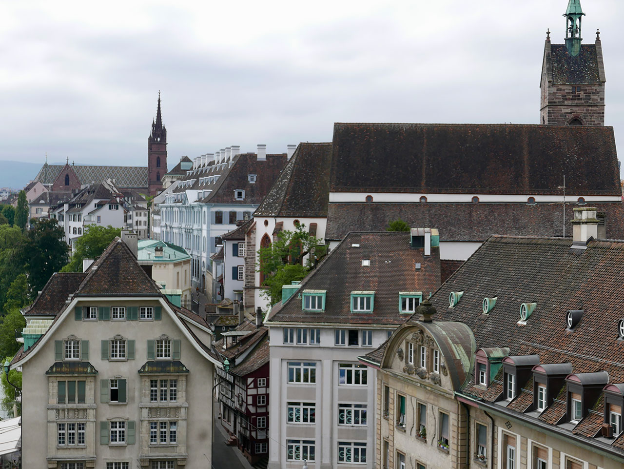 Cara Sharratt Travel - Basel, Switzerland - Rooftops & façades