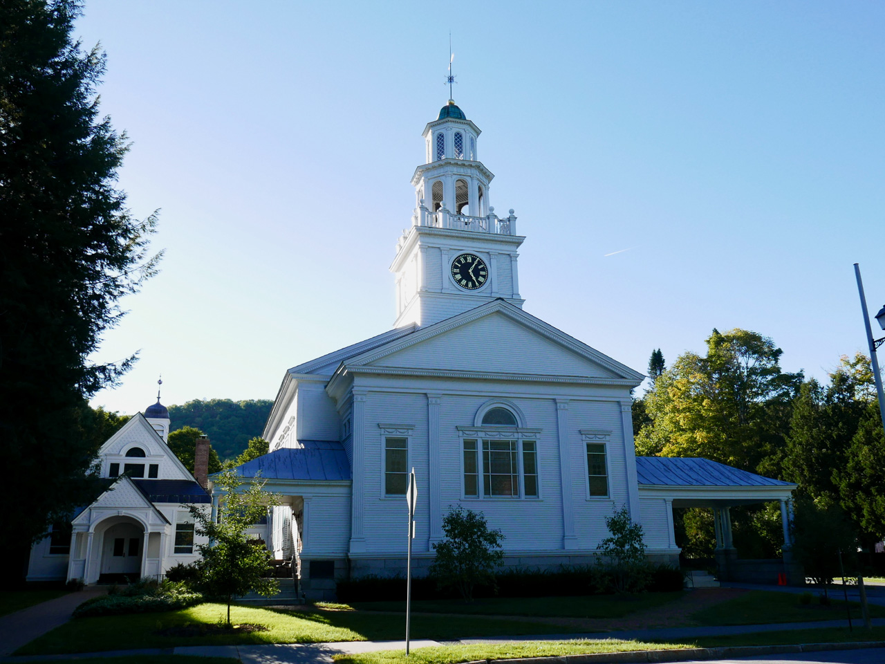 Cara Sharratt Travel - Church - Woodstock, Vermont