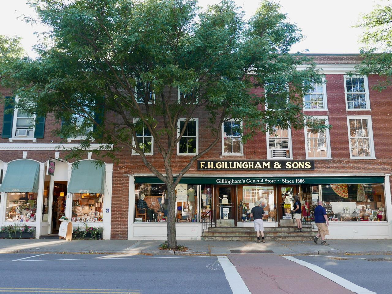 Cara Sharratt Travel - Gillingham's General Store - Since 1886 - Woodstock, Vermont