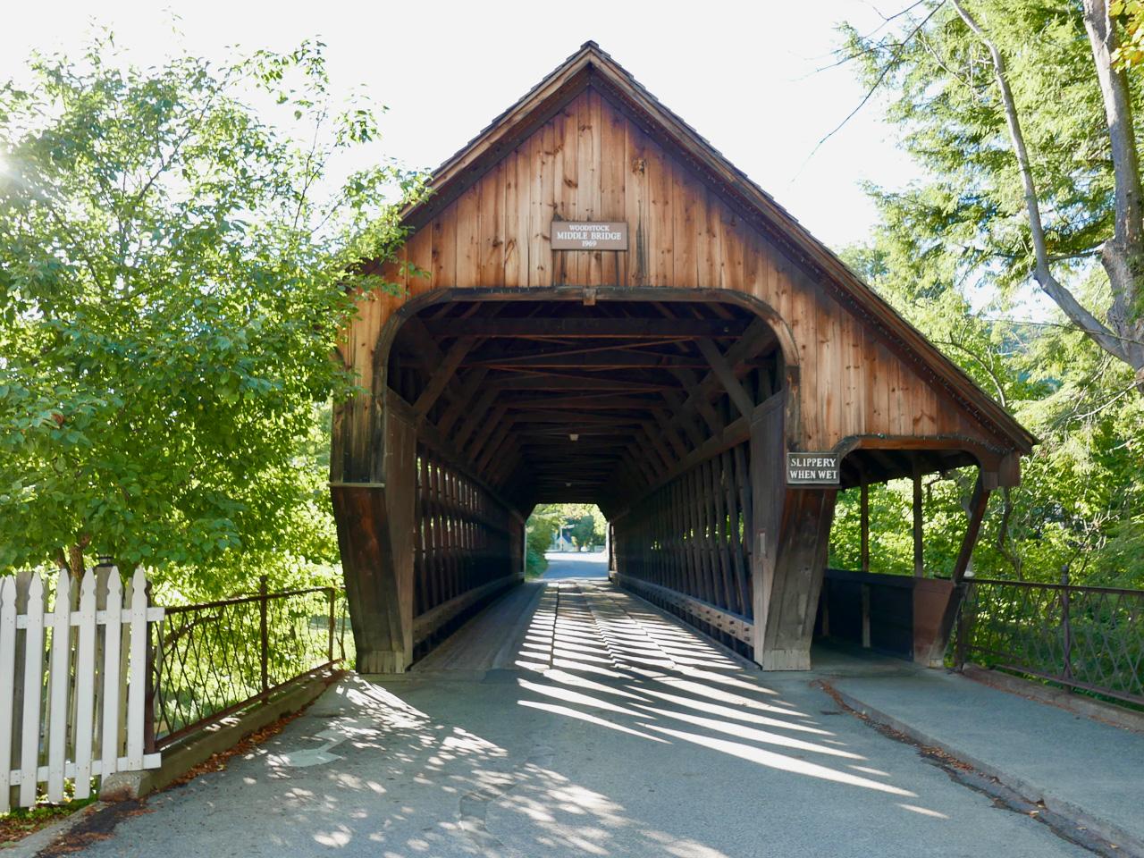 Cara Sharratt Travel - Middle Bridge - Woodstock, Vermont