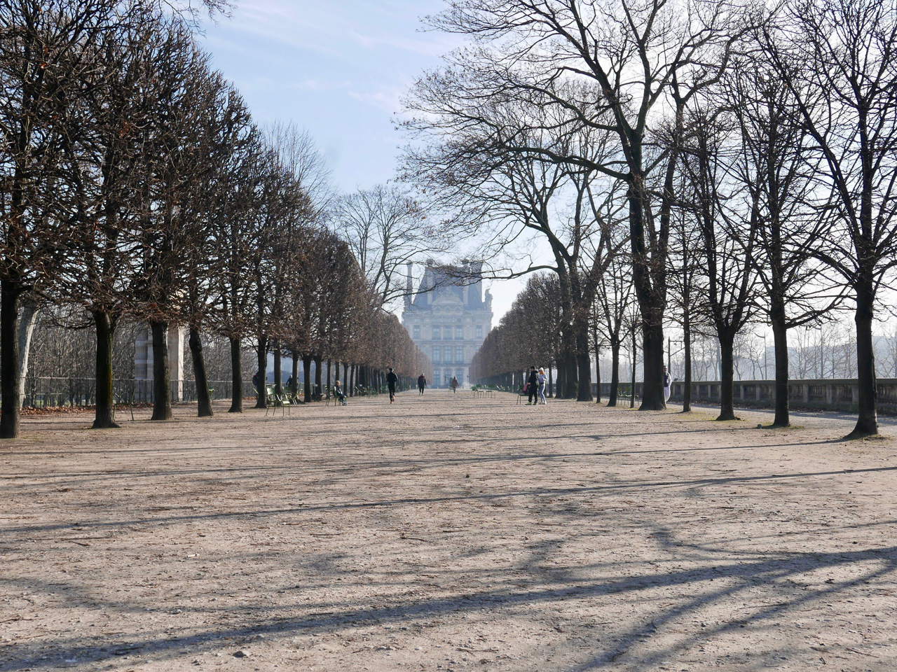 Cara Sharratt Travel - Winter - Jardin des Tuileries - Paris, France