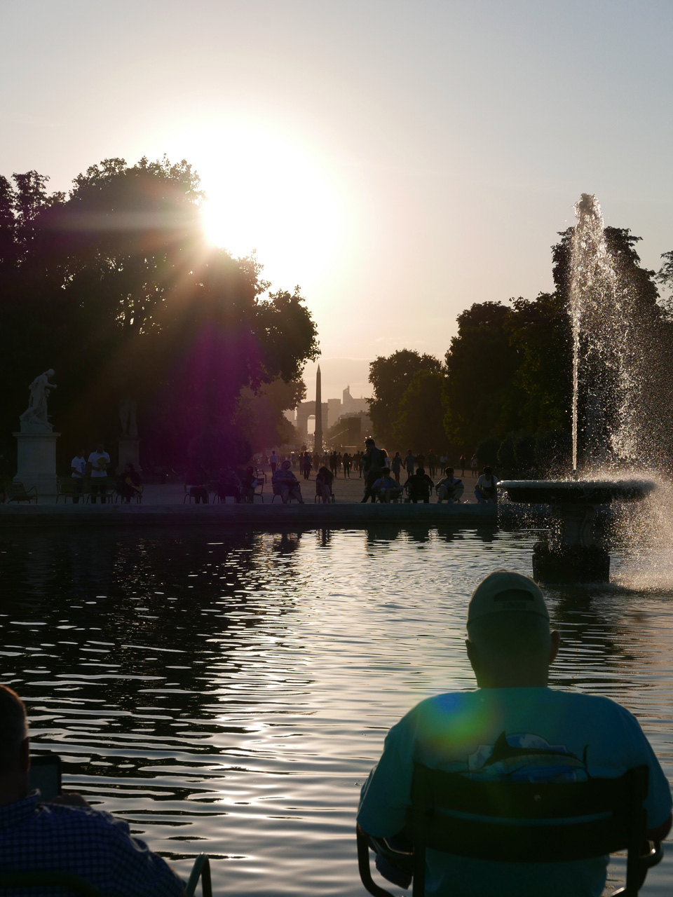 Cara Sharratt Travel - Summer - Jardin des Tuileries - Paris, France