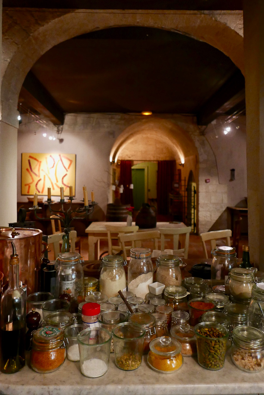 Cara Sharratt Travel - La Mirande - Downstairs Kitchen - Avignon, France