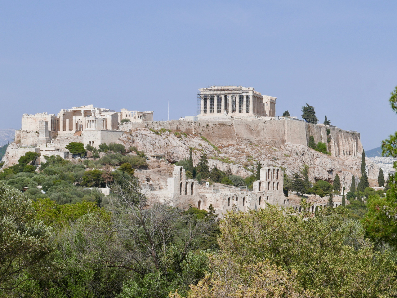 Cara Sharratt Travel - Athens, Greece - Acropolis