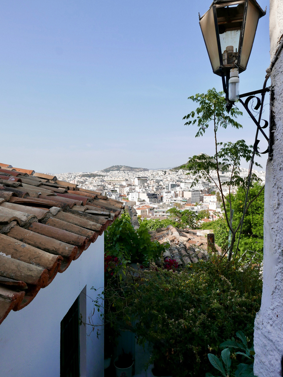 Cara Sharratt Travel - Athens, Greece - View of Athens