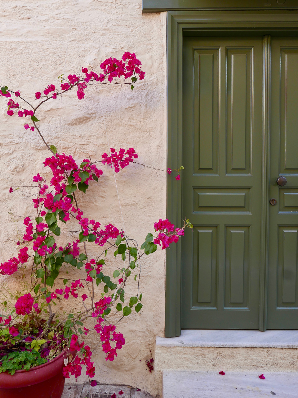 Cara Sharratt Travel - Athens, Greece - Front Door