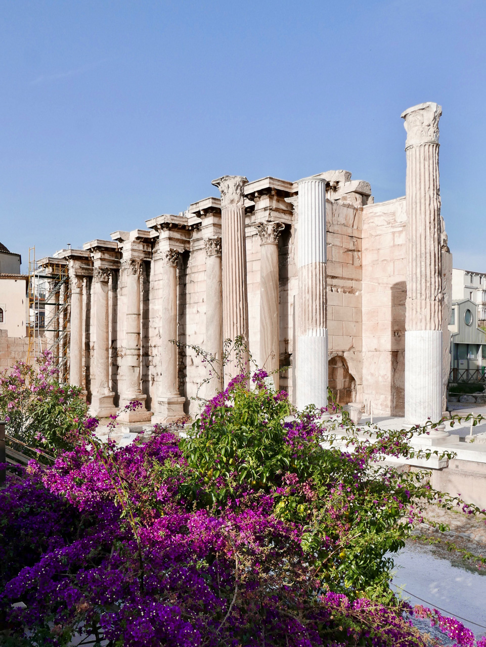 Cara Sharratt Travel - Athens, Greece - Hadrian's Library