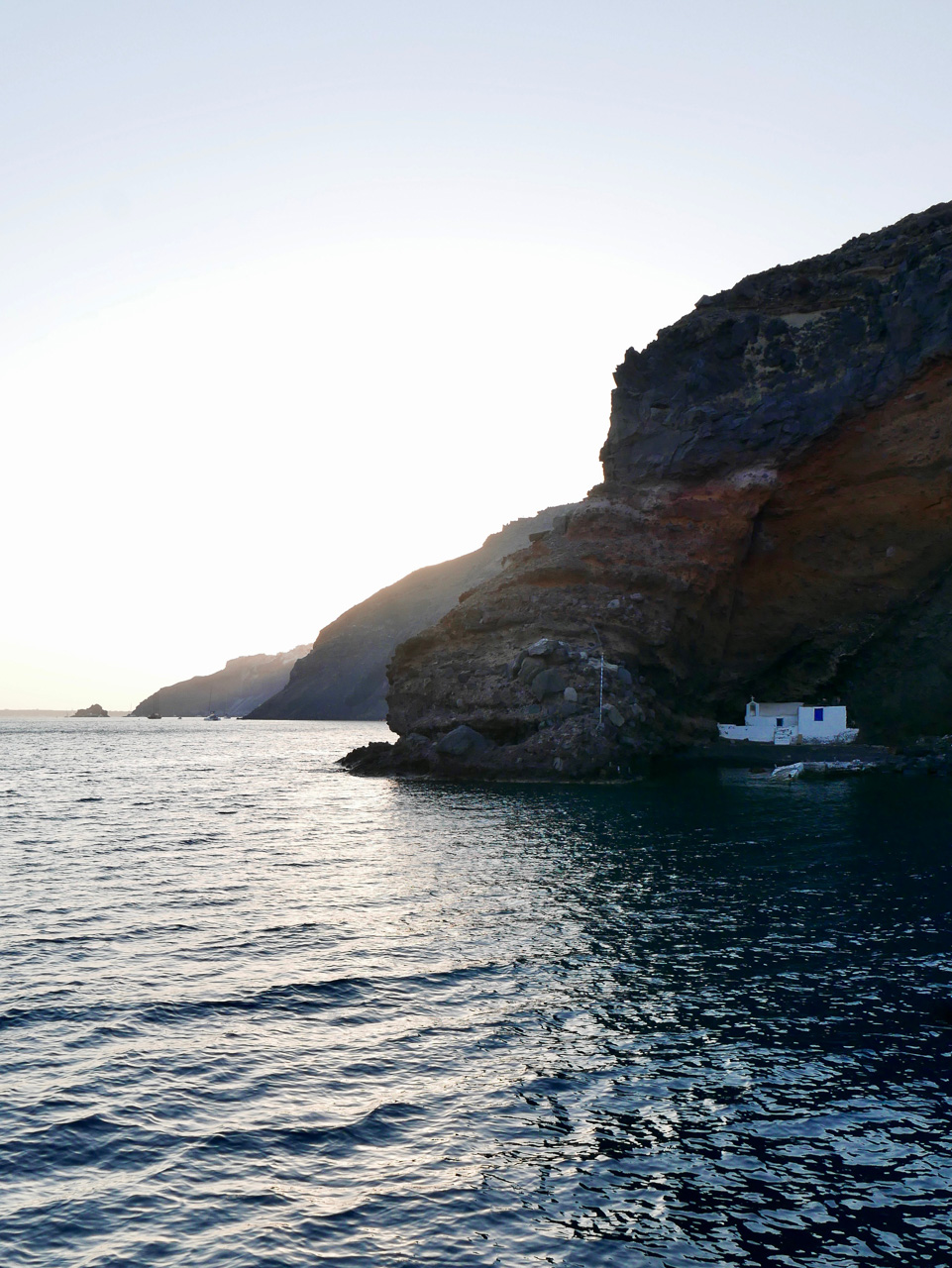 Cara Sharratt Travel - Sunset Cruise - Oia, Santorini, Greece