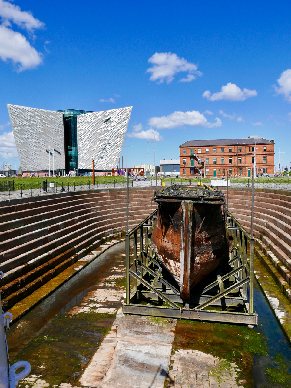 Cara Sharratt Travel - Titanic Museum - Belfast, Northern Ireland