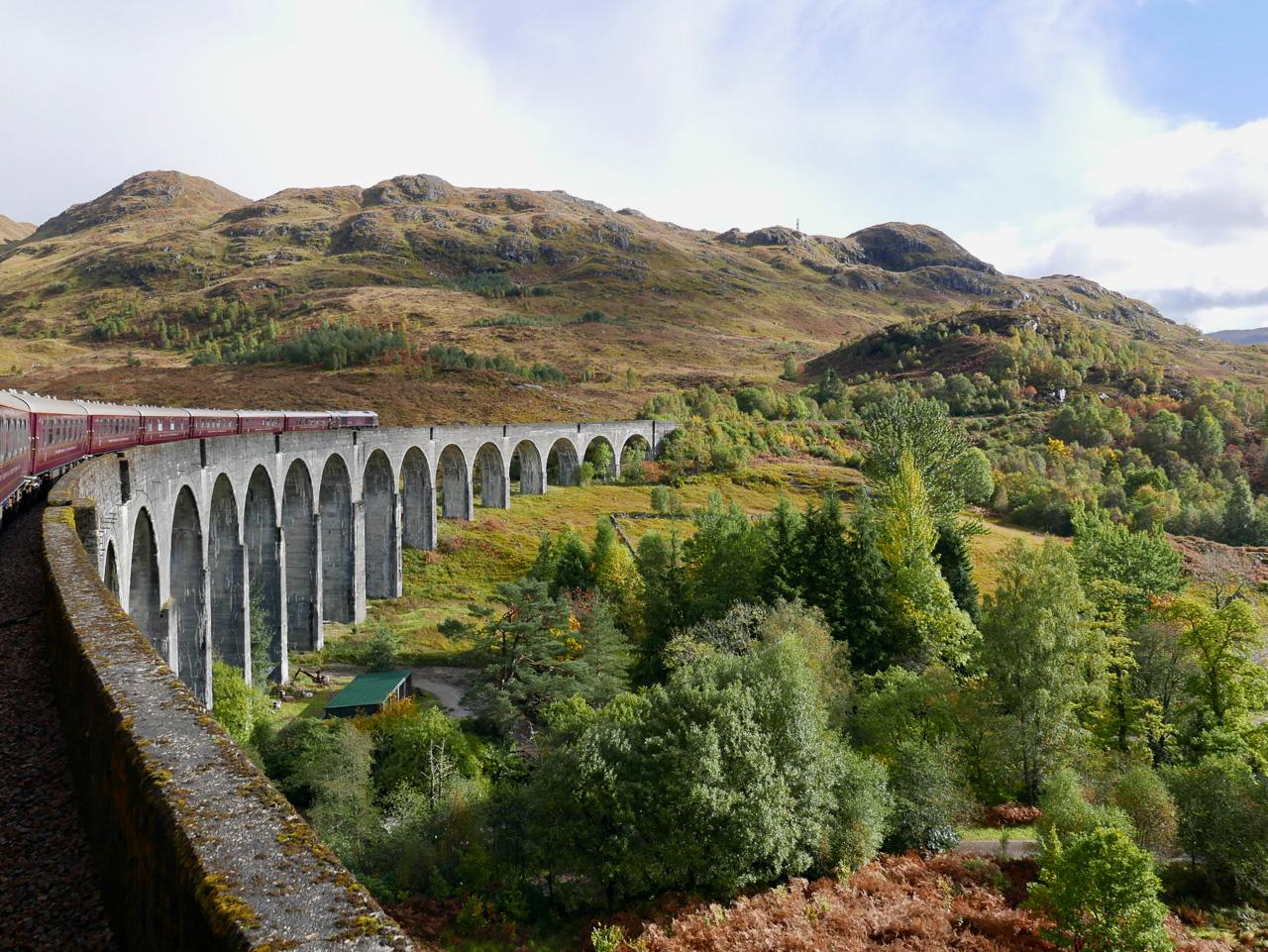 Cara Sharratt Travel - Glenfinnan Viaduct - Belmond Royal Scotsman
