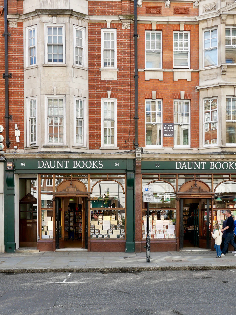 Cara Sharratt Travel - Daunt Books in Marylebone - London, England