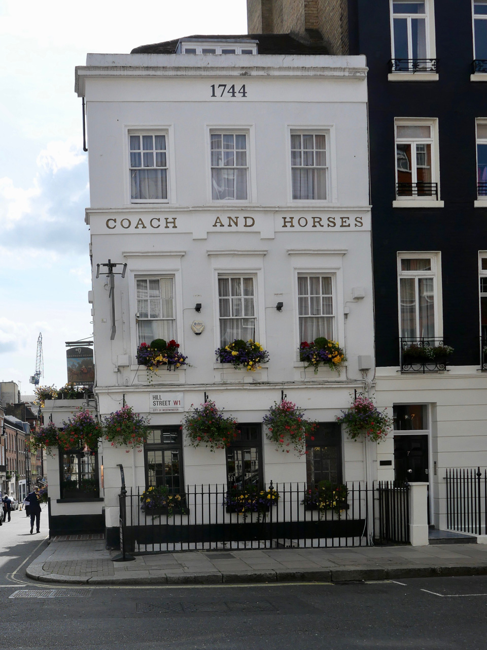 Cara Sharratt Travel - Coach and Horses in Mayfair - London, England