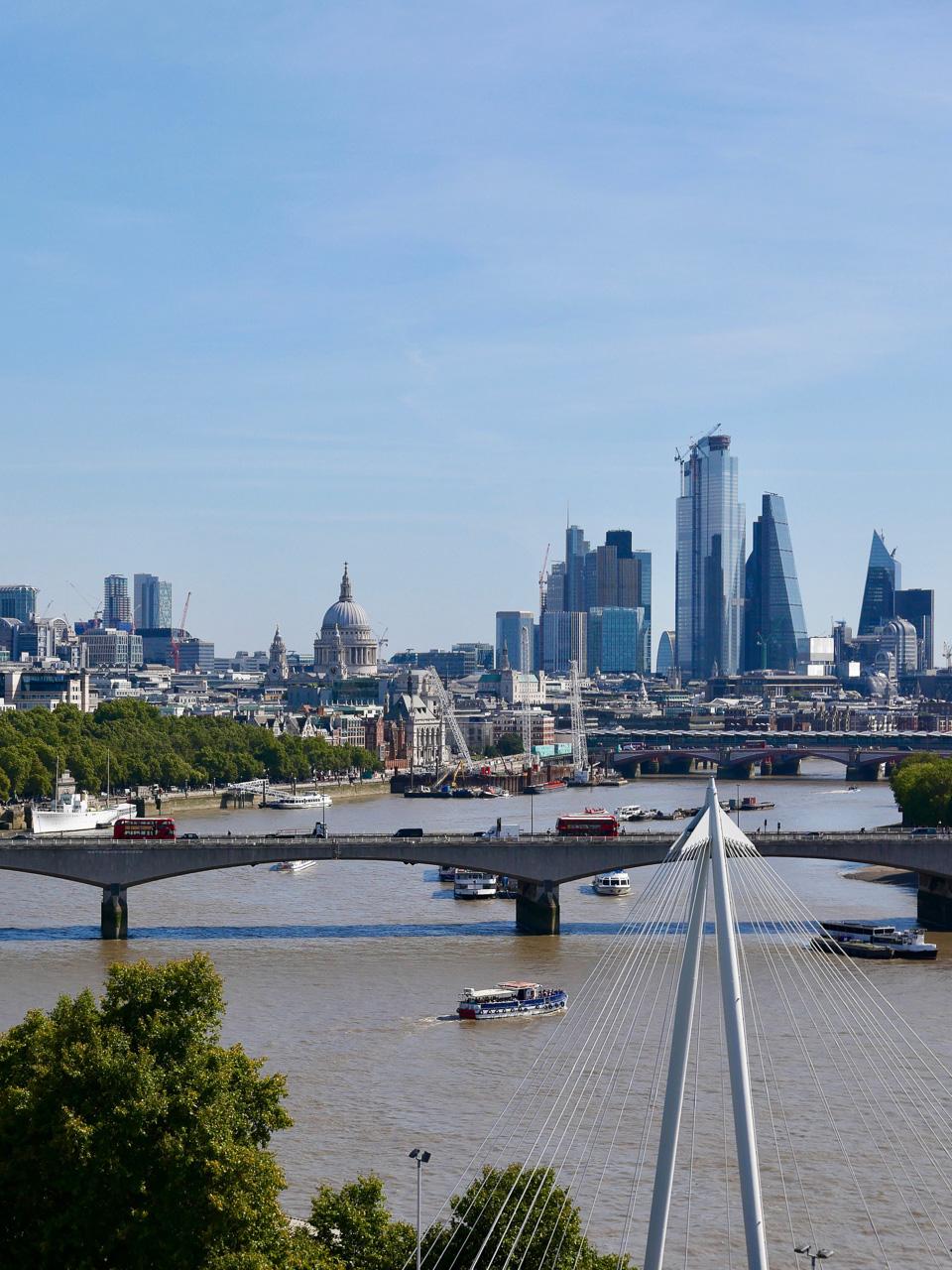 Cara Sharratt Travel - View of London from Corinthia - London, England