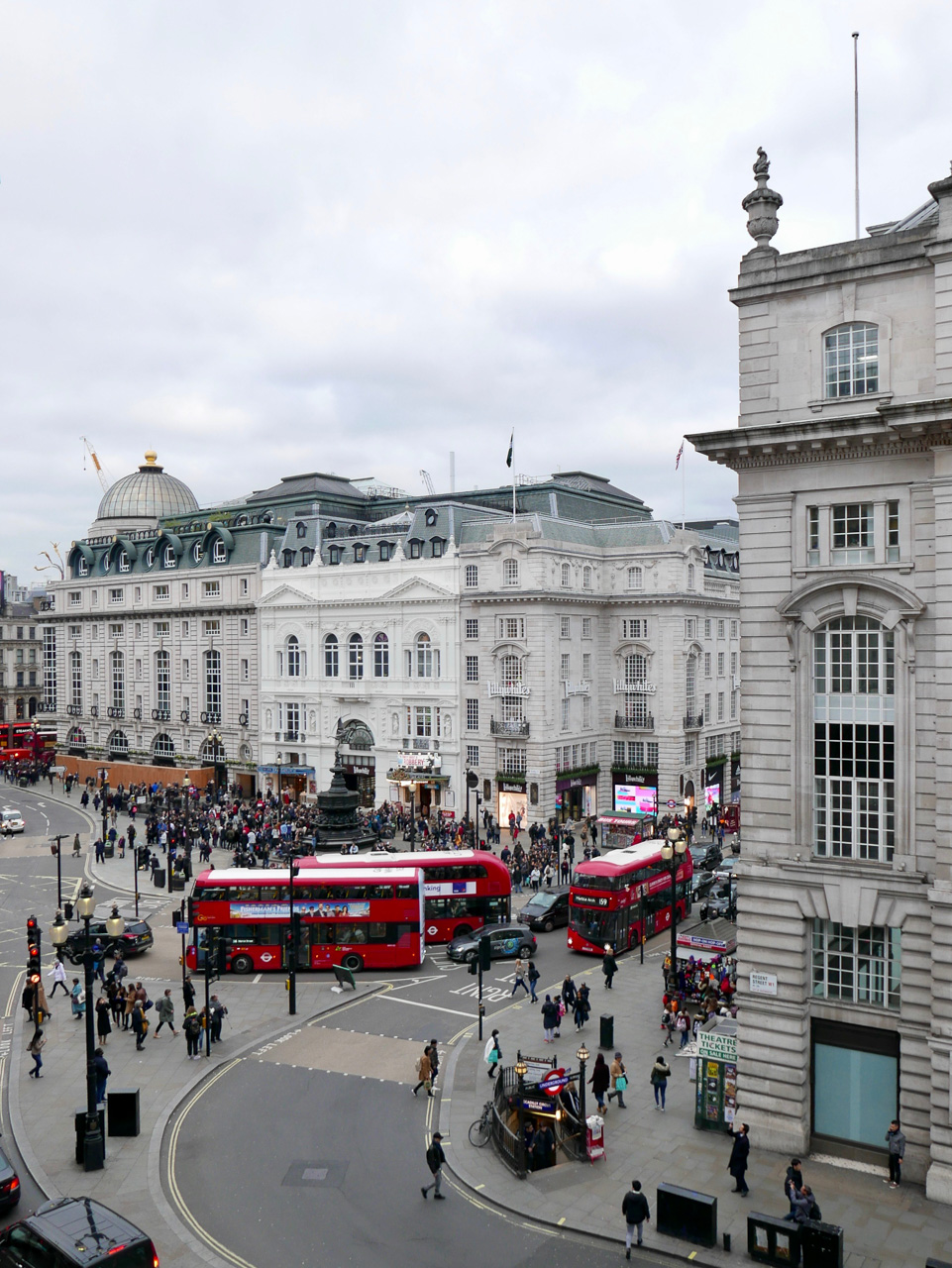 Cara Sharratt Travel - View from Hotel Café Royal - London, England